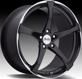 18X8 ADVANTI RACING DENARO WHEEL 5X112MM ET35 RIM GLOSS BLACK