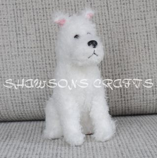 The Adventure of Tintin Plush Stuffed Toy Tintin Dog 8 Snowy Milou