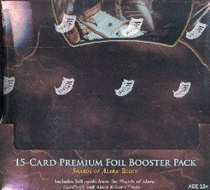 MTG Shards of Alara Block 15 Card Premium Foil 3 Booster Box Lot Magic