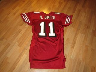 San Francisco 49ers Game issued Alex Smith Rookie Jersey