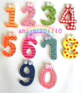 Colourful Magnetic Numbers Alphabet Fridge Magnets toy