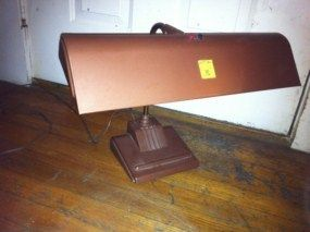 Vintage Antique Art Deco Machine Age Table Desk Drafting Lamp Light