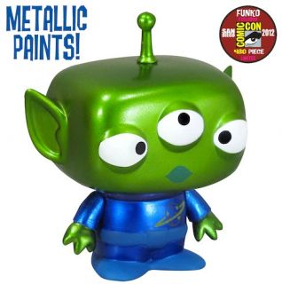 Funko Alien Toy Story 2012 SDCC Metallic Paint POP Vinyl Figure 4