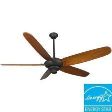 Hampton Bay Altura 68 inch Ceiling Fan in Oil Rubbed Bronze Finish