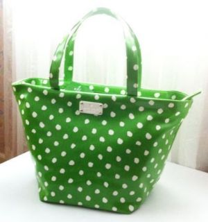 Authentic Kate Spade New York Anabel Large Tote Bag Green Dizzy Dot