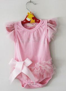 1pcs Kid Baby Girl Princess Short Top Suit Dress Costume Cloth