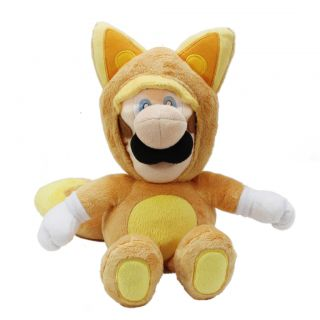 Super Mario Plush Series Plush Doll 13 Kitsune Luigi M