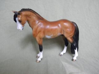 Breyer cm Custom Bouncer Apple Jack Pony Bay Sabino Pinto