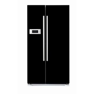 appliance art s black refrigerator cover magnet product description