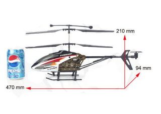 604 w 3 5CH R C Remote Control Gyro LED Camera Helicopter Controlled