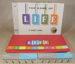 The Game of Life Board Game   Complete   Art Linkletter 1960
