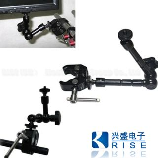 11 inch Articulating Magic Arm Super Clamp for LCD Monitor LED Camera