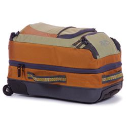 Fishpond Lariat 21in Carry on Rolling Duffel Bag Rusty