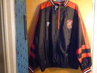 Arena Football League New Jersey Red Dogs Pull Over Jacket Size XL