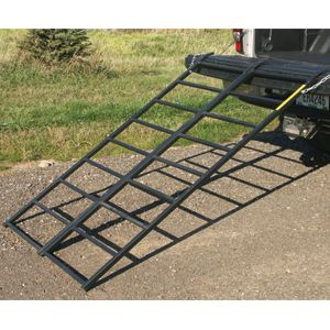 Yukon Tracks Steel Bi Fold Truck Trailer ATV Quad Mower 44x69 Ramps