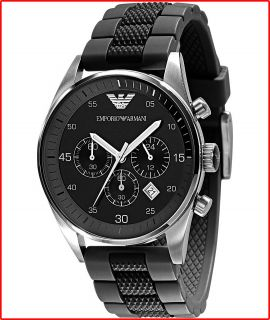 New Emporio Armani Mens Watch Sport Chronograph AR5866 Original Box