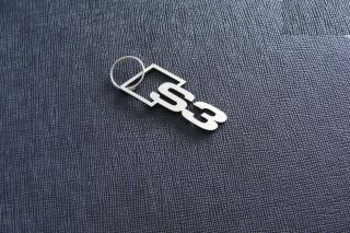 S3 Keyring Pendant Keychain Audi Quattro S3 Sport INOX Stainless Steel
