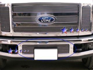 Billet Grille Insert 08   10 Ford F 250/F350 SuperDuty Lower Aluminum