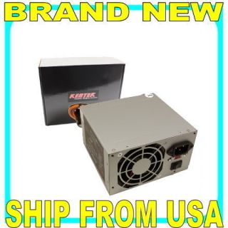 400 Watt 24 20 Pin ATX Computer PC Power Supply w SATA