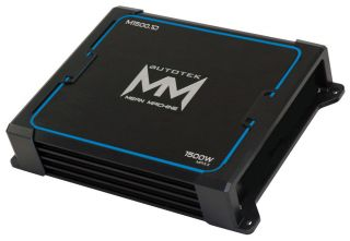 M1500.1 CAR AUDIO 1 OHM MONO CLASS D 1500W SUBWOOFER SUB AMPLIFIER AMP