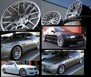 BMW E90 E92 E93 328 330 335 Z4 Avant Garde 359 Set of Four Rims