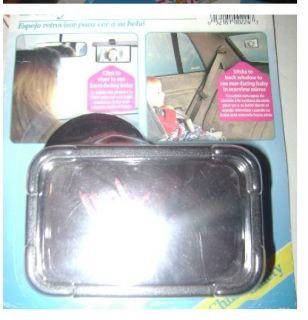 Car Driver Rear View Baby Infant in Back Seat Viewing Safety Mirror