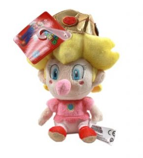 super mario bros baby peach 5 plush