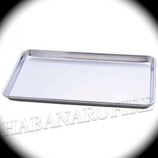 Quality Aluminum Cookie Baking Pan Half Sheet Tray Lot of 3