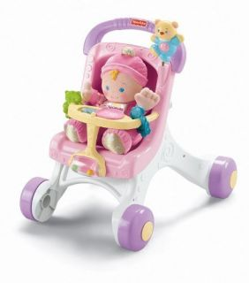 Fisher Price Brilliant Basics Stroll Along Baby Walker