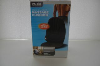Homedics Back Charger Back Massage Cushion w Heat