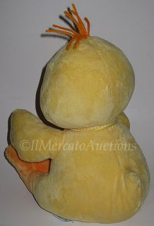 Baby Russ Sunshine Plush Yellow Duck 11 Stuffed Animal Toy Lovey