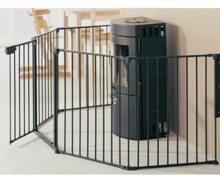 babydan hearth fireplace baby safety gate bn