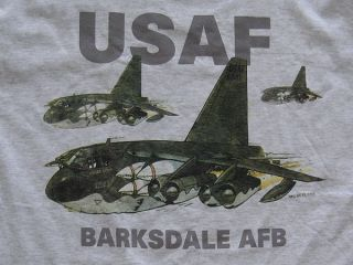 USAF Barksdale AFB Shirt XL U s Air Force Base Bossier City Louisiana
