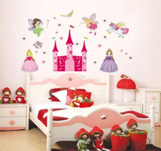 Wall Stickers DIY Mural Decals Home Decor Vinyl Art Fairy Tale