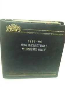 Topps 1993 94 NBA Basketball Trading Card Set 836 of 12000 COA Members