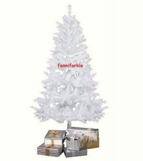 FT WHITE PINE CHRISTMAS TREE ~ 48 INCHES TALL ~ UNLIT ~ INCLUDES