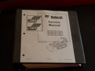 Bobcat MT52, MT55 Bobcat Mini Track Loader Service Manual, 6903372 (2