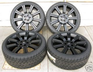 20 range rover stormer wheel and tire package black fits