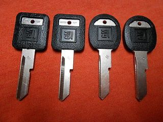CHEVY BUICK PONTIAC OLDS OEM KEY BLANKS 69 73 77 81 91 92 93 94