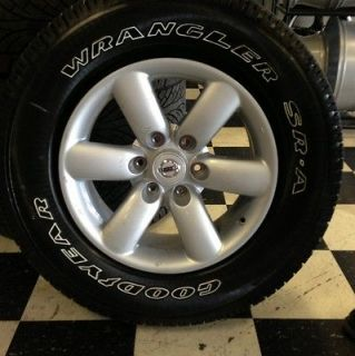 Nissan Titan Wheels And Tires 2012 OEM Take Off Rims,Tires 18