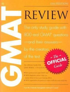GMAT Review The Official Guide 2005, Paperback