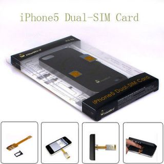 Kiwibird ks 02 Dual SIM Card Adapter + Shell Case Cover For Apple