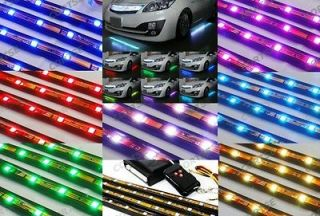 Newly listed 7 Color 90 RGB SMD LED Strip Underbody Under Car Light