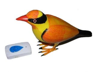 High Quality Wireless Bird Remote Control Chime Doorbell Alarm Door