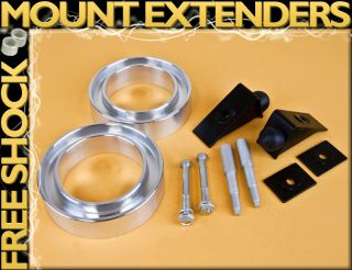BB FRONT 3 BODY SUSPENSION LEVELING LIFT KIT W/ SHOCK EXTENDER &BUMP
