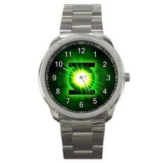 green lantern comic movie logo # a sport metal watch
