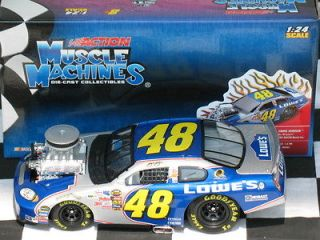 Johnson #48 2005 MUSCLE MACHINES RCCA Die Cast Car 1of 288