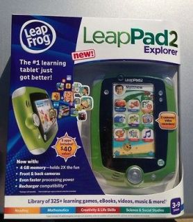 leap frog leappad 2 green brand new