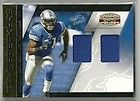 2010 GRIDIRON GEAR CALVIN JOHNSON GAME USED JERSEY #D 72/100 DETROIT