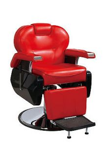 BestSalon Red All Purpose Hydraulic Recline Barber Chair Salon Spa